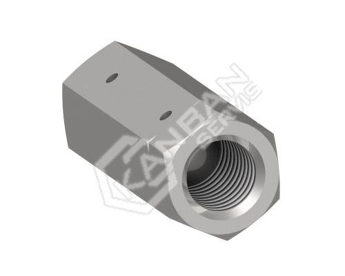 Samostatná matice pro napínače DIN 1479 Zn M20/M20L