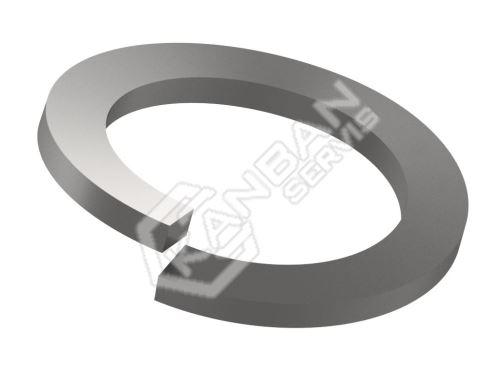 Podložka pružná obdélníkovým průřezem DIN 127 B Zn pr.8,1