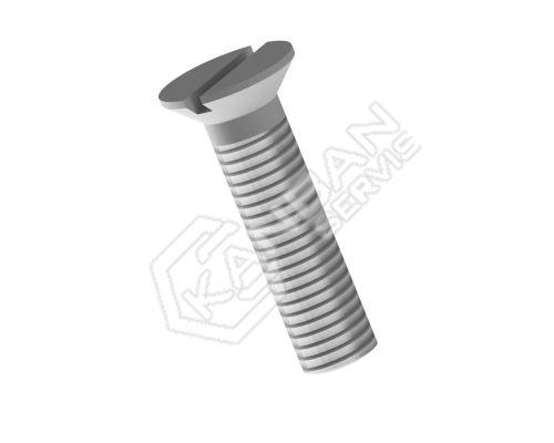 Šroub se zapuštěnou hlavou DIN 963 4.8 Zn M4x20