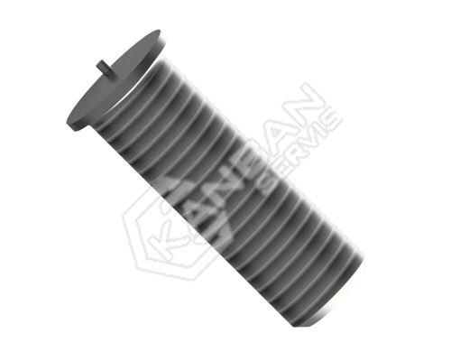 Šroub přivařovací ISO 13918 poměděný St 37-3k PK-B M6x30