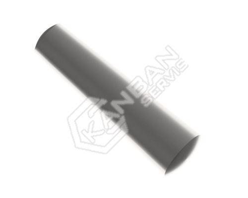 Kolík kuželový DIN 1 B St pr.7,0x26