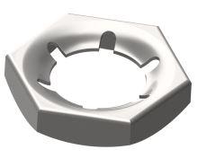 Matice pojistná plechová DIN 7967 Zn M8