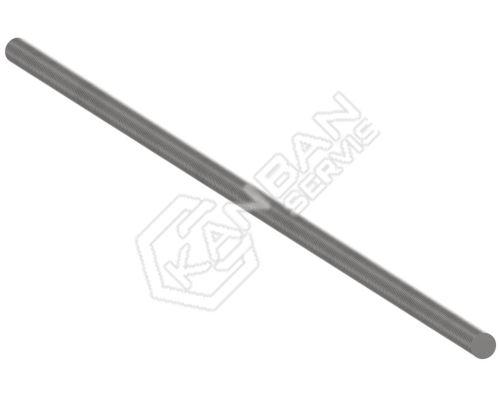 Závitová tyč DIN 975 4.8 St M27x1000