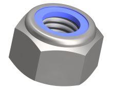 Matice pojistná vysoká DIN 982-10-Zn M16x1,50