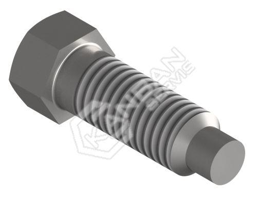 Šroub odtlačovací DIN 561 B 8.8 St 6hr.hl. M16x100