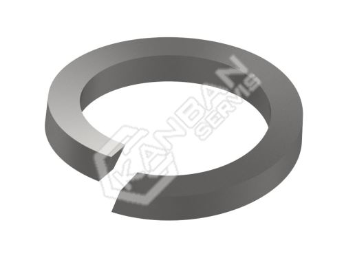 Podložka pružná s čtvercovým průřezem DIN 7980 Zn pr.4,1