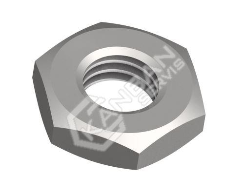 Matice šestihranná nízká DIN 439 B-04-černěno M8